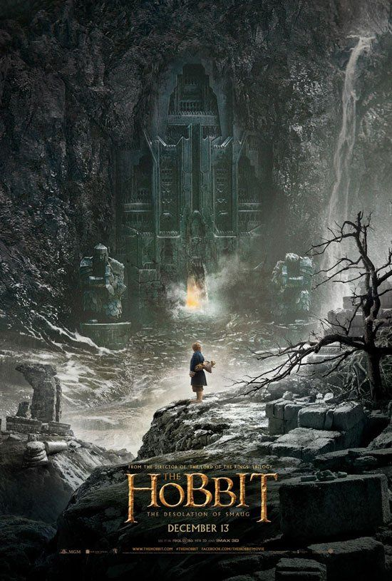 The Hobbit: The Desolation of Smaug. Coming December 13th, 2013