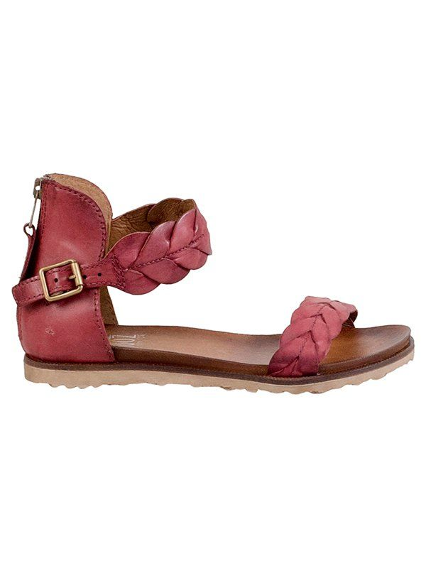 Miz Mooz Taft sandal, in great spring colors!  See 1000s of comfortable shoes reviewed at www.barkingdogshoes.com