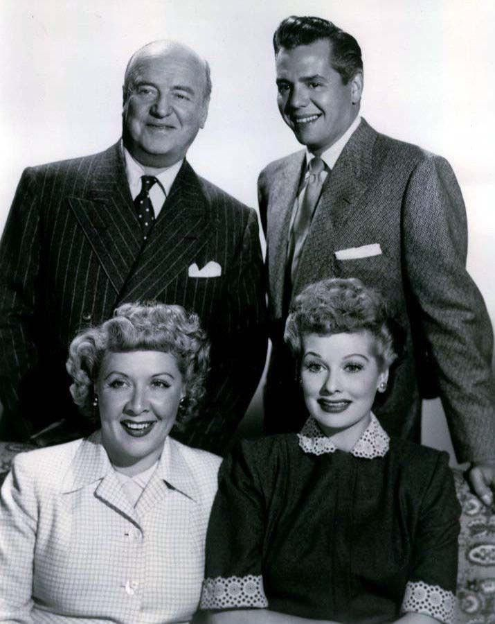 I Love Lucy Lucille Ball Vivian Vance Desi Arnaz and ...