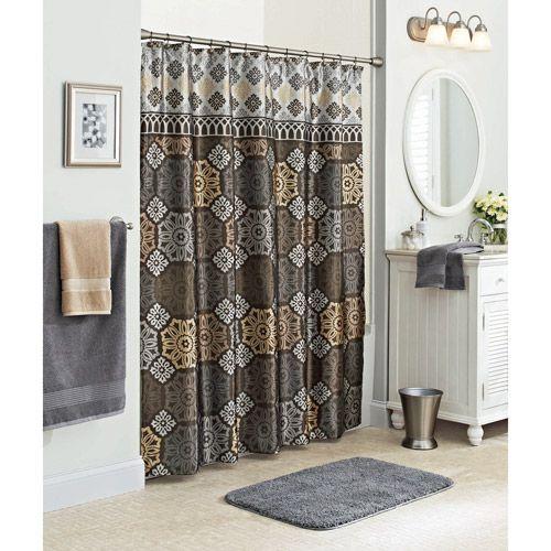 Better Homes and Gardens Santorini Fabric Shower Curtain Multi Color Bath  Walmart  101 best images. Better Homes And Gardens Shower Curtains Walmart   Arudis com