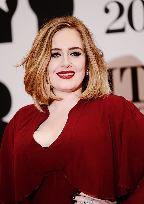 """itsgomezsel: """"  Adele attends the BRIT Awards 2016 on February 24, 2016 in London, England. """""""