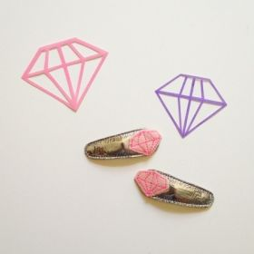 diamond clips