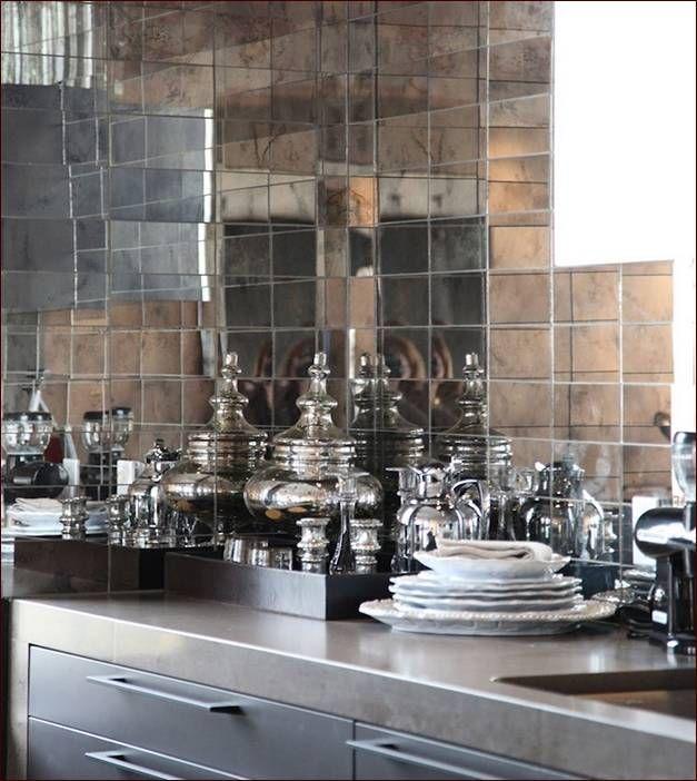 1000 Ideas About Antique Mirror Tiles On Pinterest