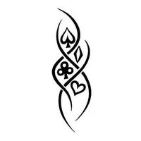 Diamonds Tattoos Clubs Hearts Spades Tattoo