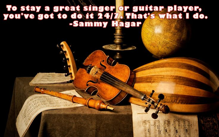 If you love something, pour every inch of you whole-heartedly! #music