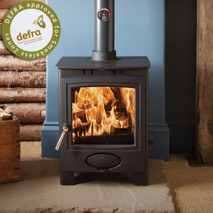Aarrow Ecoburn 5 Plus DEFRA Wood Burning Stove