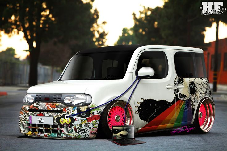 slammed nissan cube nissan cube panda ftwby nissan cube. Black Bedroom Furniture Sets. Home Design Ideas