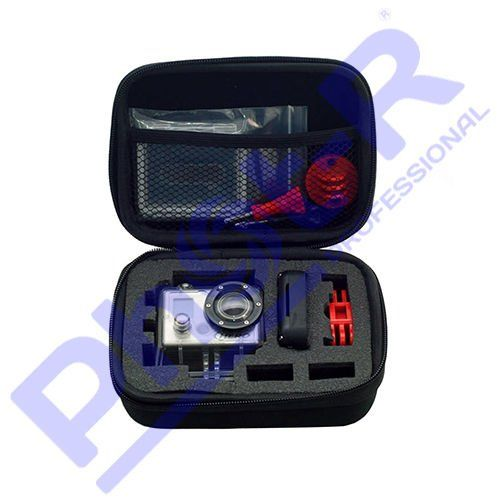 awesome Phot-R Small Portable Compact Protective Shell Storage Shock Absorbing Carry Case for GoPro HD Hero 1/2/3/3+/4 Action Camera - Black