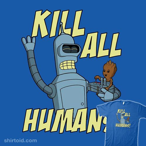 The Button's Friends! | Bender and Groot