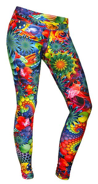 Legginsy Surreal Feel Joy! w Feel Joy na DaWanda.com