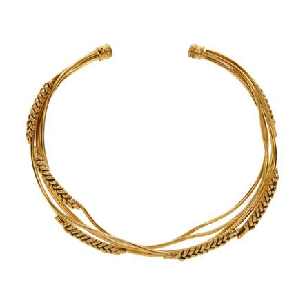 Aurelie Bidermann Gold Wheat Collar at Barneys.com