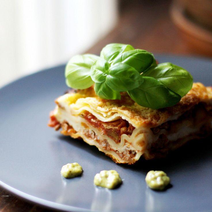 Лазанья классическая с мясом