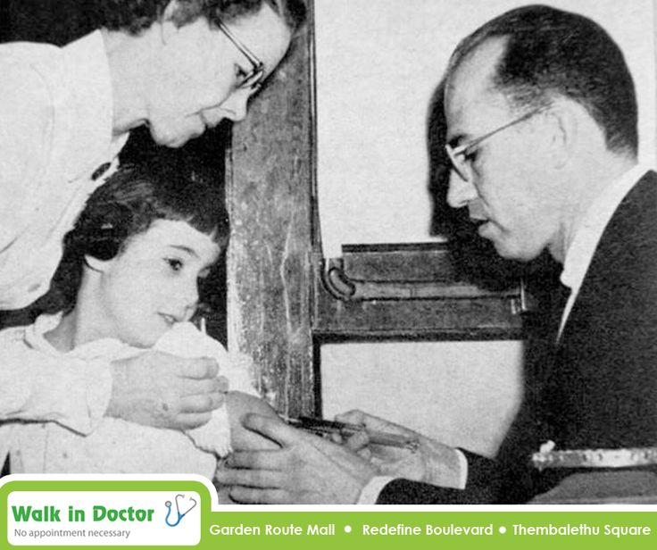 Jonas Salk created the first vaccines against the flu virus in 1938. The first #flu vaccines were used on soldiers in the U.S military before World War II. After its success on the battle field it was quickly distributed to public clinics. #TBT #WalkInDoctor