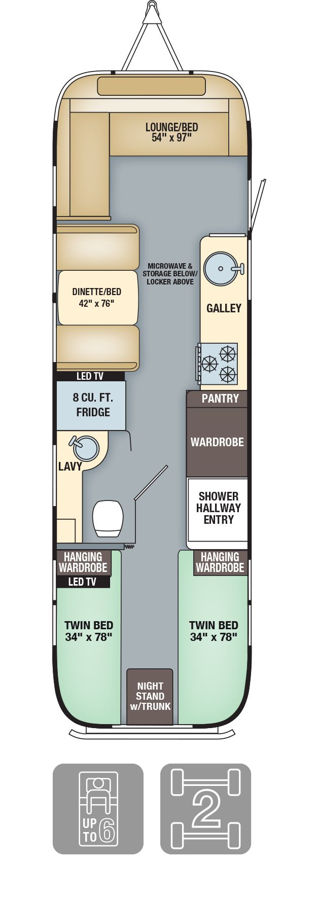 best 25 travel trailer floor plans ideas on pinterest airstream floor plans flying cloud 30 twin