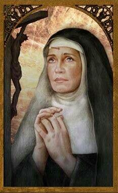 St Rita of Cascia | www.saintnook.com/saints/ritaofcascia | St. Rita of cascia Feastday May 22 Patron of impossible cases Art Portraits of Saints