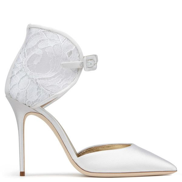 Giuseppe Zanotti - Isabel #bride #bridal #shoes #sandals #wedding #white #bysavio #giuseppezanotti Sale Price $595.00