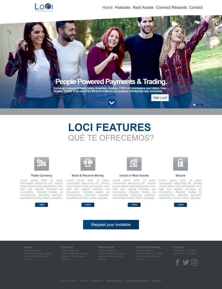 Diseño Web de LOCI para Kumisoft