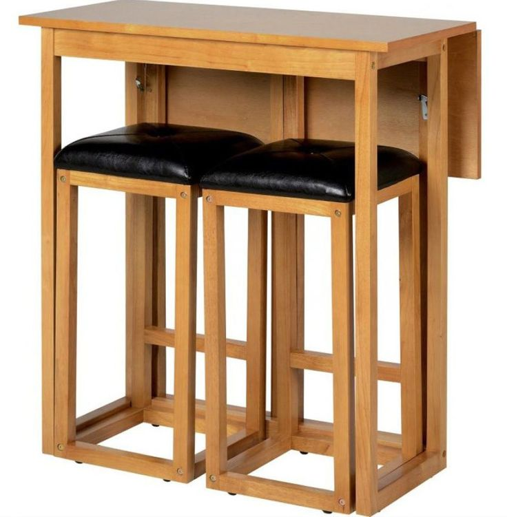 Kitchen Bar Stools For Small Spaces: Best 25+ Space Saver Dining Table Ideas On Pinterest