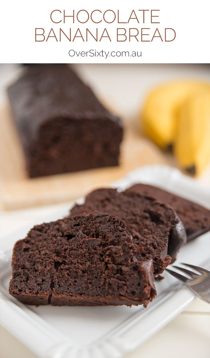 Chocolate Banana Bread Recipe - take delicious banana bread and add chocolate, and you've got one indescribably delicious recipe.