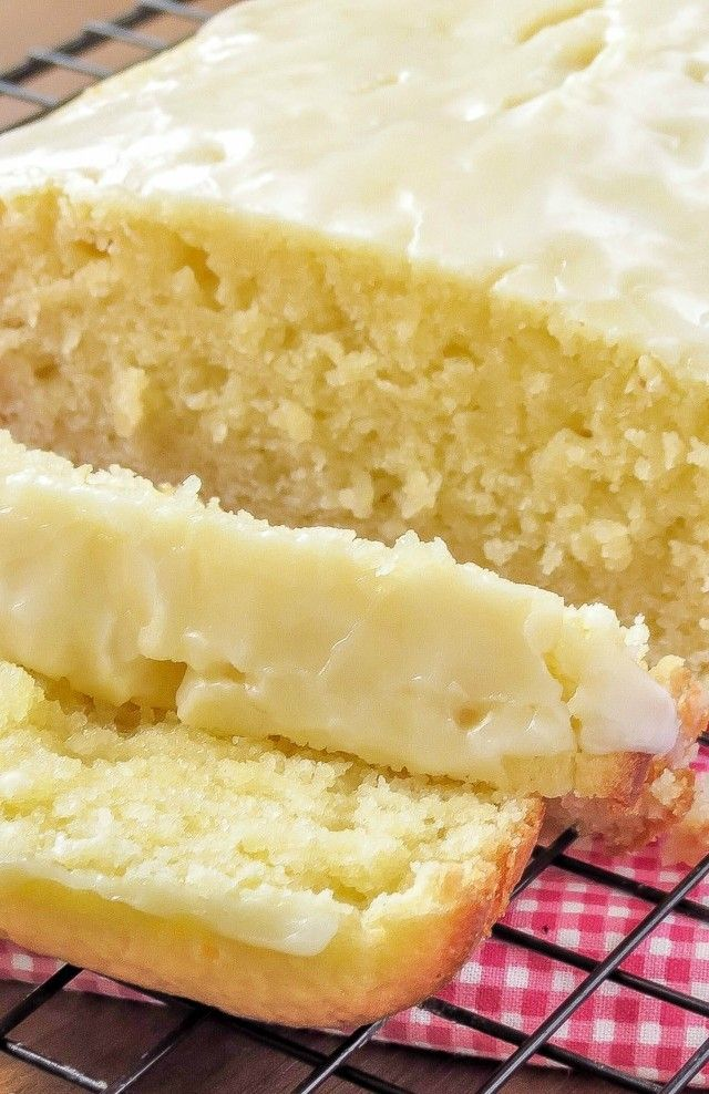 Lemon Loaf ~ There are so many recipes for fans of lemon flavour in anything, but this one will make you, if you're one of them, go totally crazy!