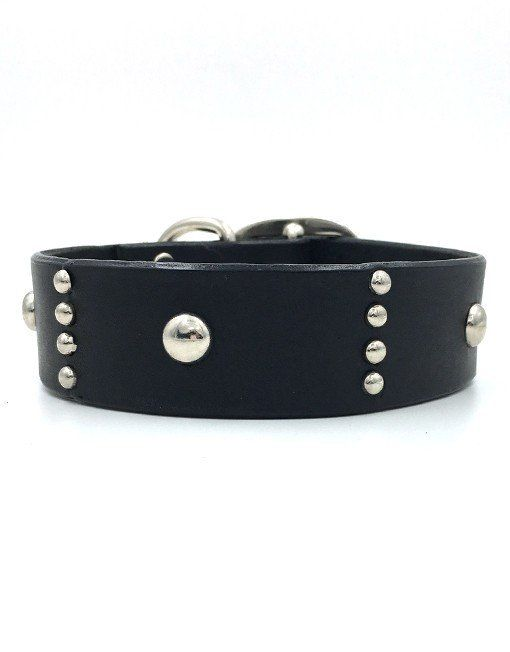 Wilbur leather collar – Tweed & Stripes