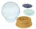 Water Globe Kits with Wood Base - National Artcraft