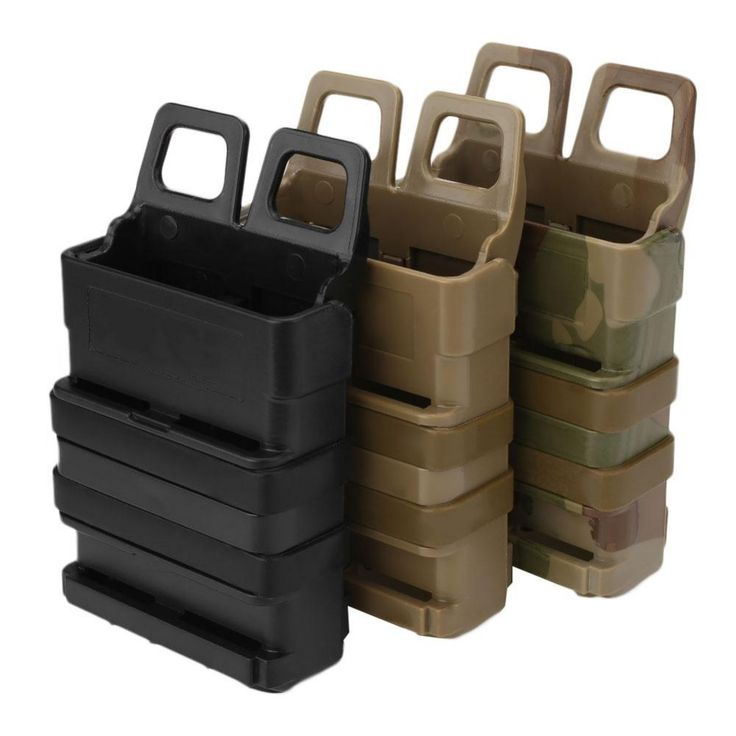 Fast Mag Attach Belt Magazine Pouch 5.56 Molle Holster Hunting