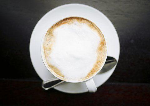 Kofeina, Cappuccino, Kawa, Puchar