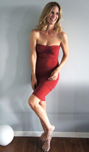 Filippa in Wolford Fatal Dress