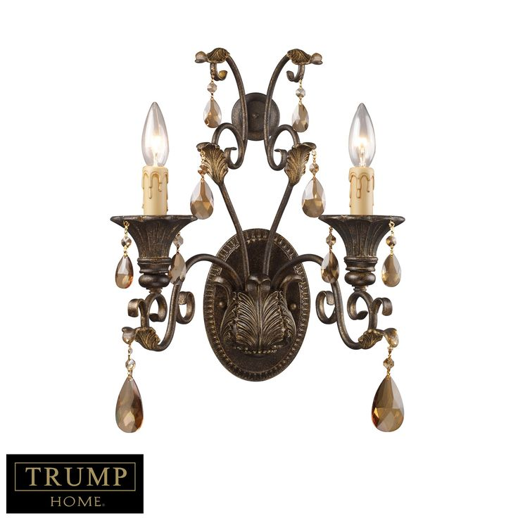 South Shore Decorating: Trump Home 3341/2 Rochelle Traditional Wall Sconce ELK-3341-2