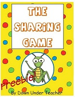 the sharing game - division freebie