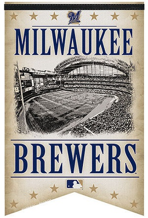 Milwaukee Brewers Banner: Baseball America Pastim, Brewing Crew, Milwaukee Brewers, Milwaukee Baseball, Wisconsin Sports, Beautiful Milwaukee, Baseball Games, Brewers Banners, Banners W