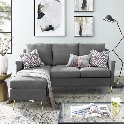 15 Sofas That Prove You Can Have A Sectional Even If You Live In A Small Space Small Sectional Sofa Living Room Design Small Spaces Sofas For Small Spaces Best sectionals for small spaces