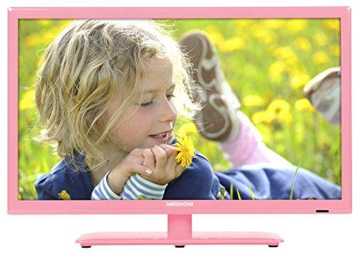 "MEDION LIFE P13172 LED-Backlight-TV (MD 21412) 54,6 cm (21,5"") Full HD Display, HD Triple Tuner, DVB-T2 HD, CI+, Mediaplayer, EPG, EEK: A, rosa"