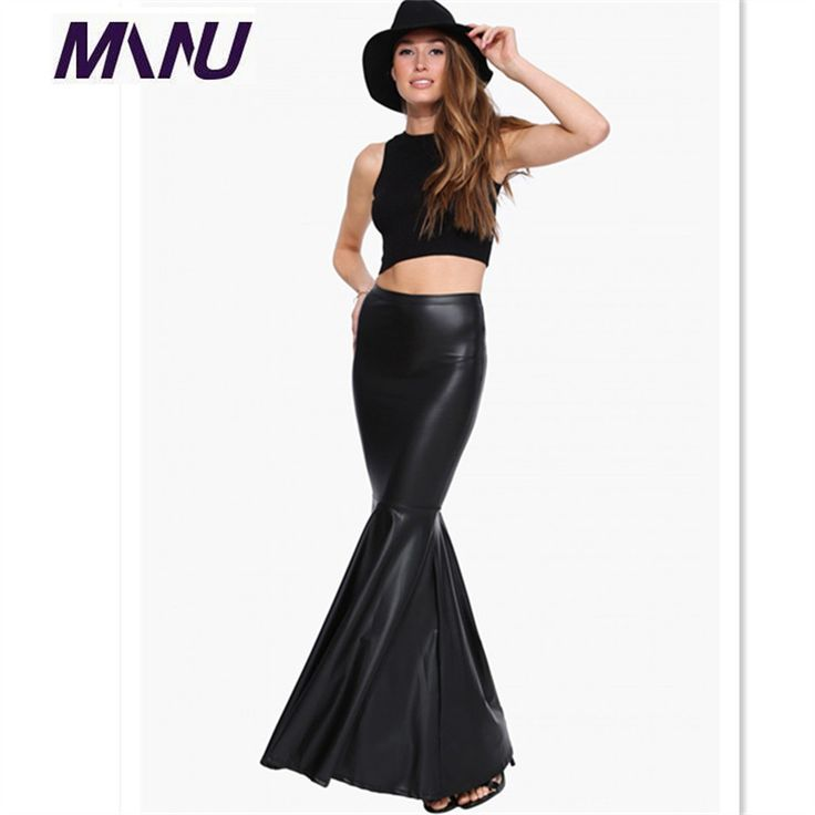 Find More Skirts Information about Hot Faux Leather Women Skirt 2015 New Fashion PU Floor Length Patchwork Skirt Trumpet Solid Sexy Sheath Skirts 7XL Plus Size,High Quality leather 7,China leather mittens Suppliers, Cheap leather pliers from Manu Garment----Elena Store on Aliexpress.com
