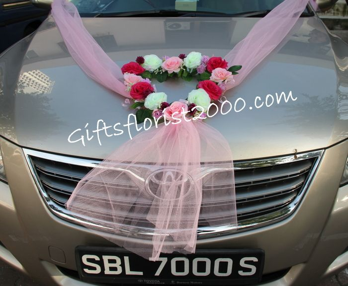 15 best luxury wedding cars sydney australia images on pinterest beautiful heart silk flowers wedding car decoration 24 junglespirit Choice Image