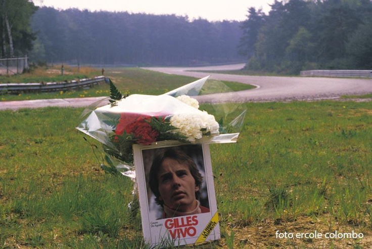 Memorial at Terlamenbocht  Eddie Cheever Jr.: That is Zolder. I was the first car behind him and Mass