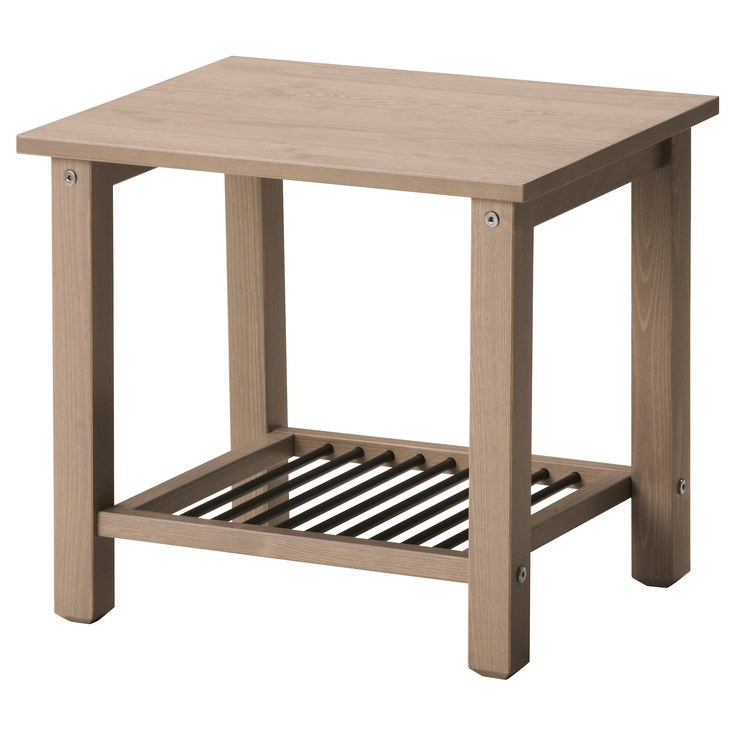 option for bedside table   like the simplicity   could be cute with some  type of galvanized container on the bottom. Best 25  Bedside table ikea ideas on Pinterest   Hemnes bedside