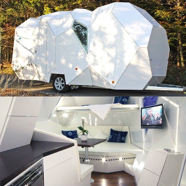 Mehrzeller Multicellular Caravan: Campers Vans, Stupid Genius, Stupid 33, Campers Trailers, Genius Products, Travel Trailers, Awesome Inventions, Cool Inventions, 33 Photo