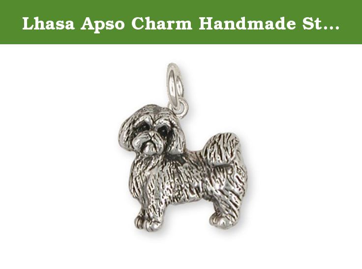 Lhasa Apso Charm Handmade Sterling Silver Dog Jewelry LSZ8-C. This is an original handmade Esquivel and Fees Lhasa Apso Charm design. Our Lhasa Apso Charm is hand cast, using the lost wax casting process and is hand finished When you place your order. Please allow extra time while we make this for you. Our Lhasa Apso Charm weighs approximately 9.5 grams in 14K gold. Please contact us if you are interested in gold or gold vermeil prices for this Lhasa Apso Charm. Our Lhasa Apso Charm…