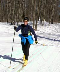 cross country skiing - bring your skis!