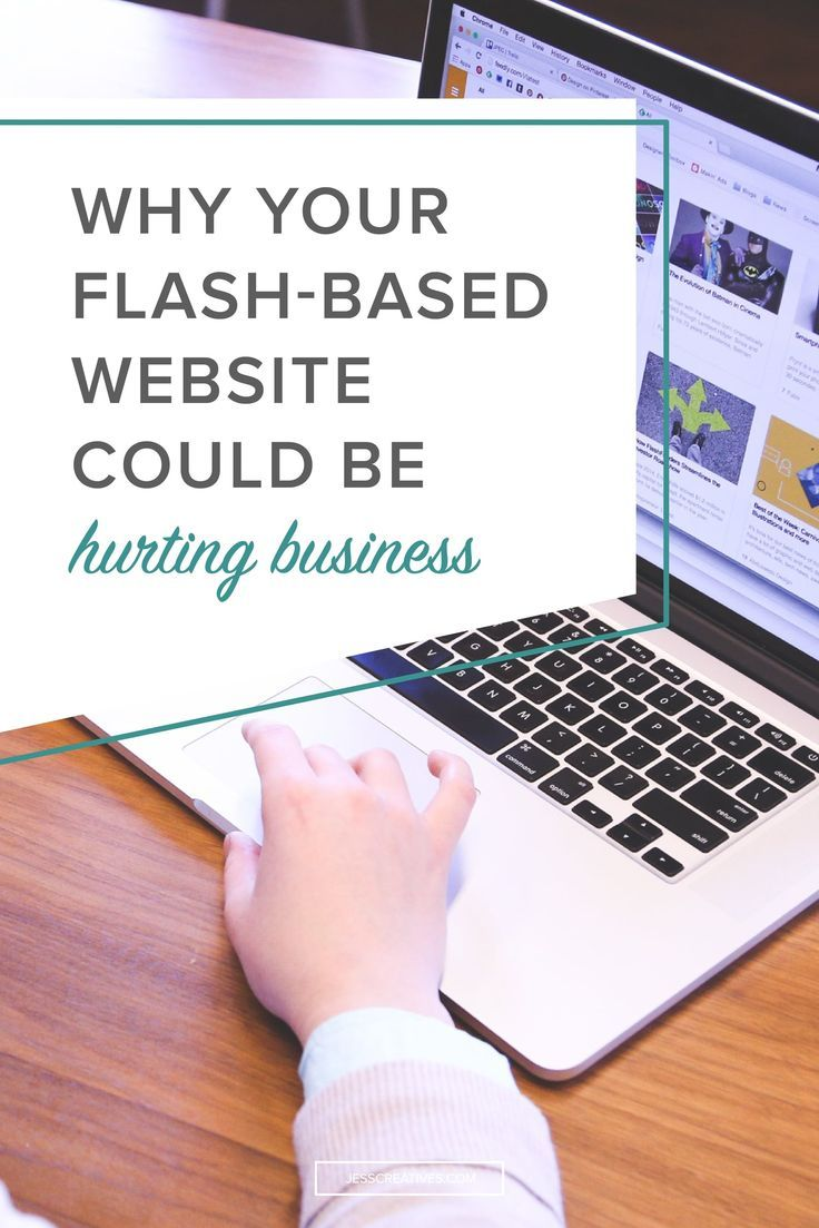 You want your website to stand out.  You want it to reflect you + your brand.  Sometimes that results in entrepreneurs making bad website choices - like making a flash website. (These type of websites are most commonly used among photographers because it helps protect their photos from being stolen off their website.)