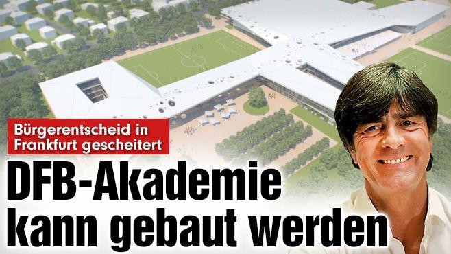 Nach Bürgerentscheid: Frankfurter sagen JA zur DFB-Akademie - Der #Buergerentscheid gegen den Bau der #DFB-Akademie auf dem Gelände der Frankfurter #GaloppRennbahn ist gescheitert http://www.bild.de/sport/fussball/dfb/darf-akademie-bauen-buergerentscheid-gescheitert-41449520.bild.html GER loves #soccer,#Formula1,#Tennis++(often also #cats+#dogs more than human),while young girls love #horses,no wonder #soccer/#DFB won over #horses;D