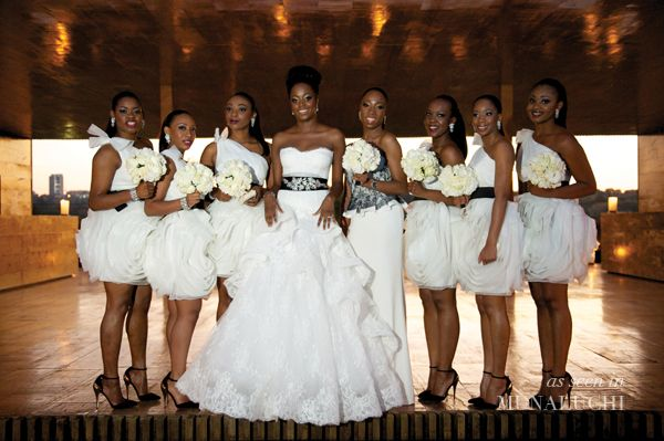African Wedding Gowns