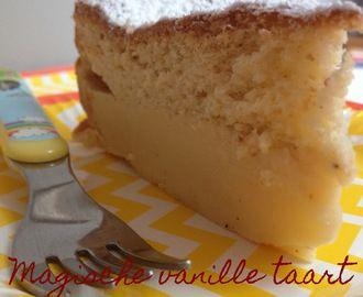 Magische vanille taart
