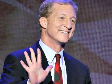 Leftist Democrat Billionaire & Climate Con Artist Extraordinaire Tom Steyer Is Now America's Top Political Donor. A billionaire who can afford to dump millions to play in politics is willing to 'spend what it takes' to make energy costs soar for hard-working Californians. After all, he's already promised to 'penalize' those who don't agree with his out-of-touch agenda. Ummm, not out-of-touch as much as 'lying a$$hole' agenda.