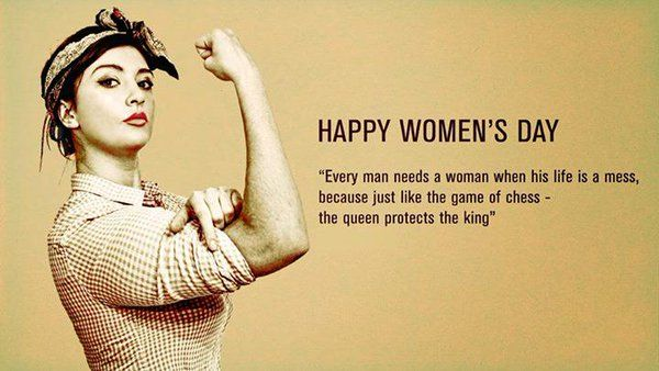 Happy Women's Day Quotes 2016
