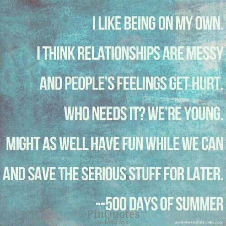 500 Days Of Summer   Summer Quote