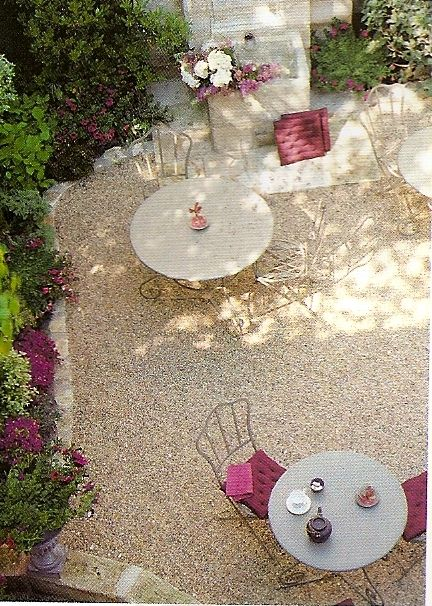 Pink Crushed Stone : Best images about crushed stone patios on pinterest
