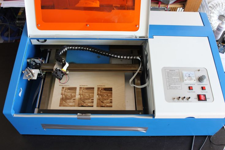 The Story of the cheap Chinese K40 eBay laser cutter/engraver